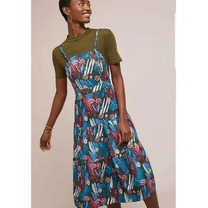 New Anthropologie Tiered Mosaic Dress EVA FRANCO